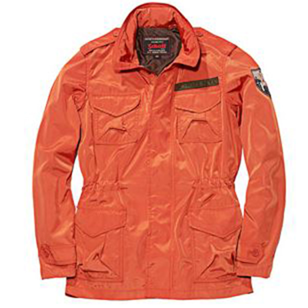 [SCHOTT N.Y.C] M65 EMBLEM JACKET - ORANGE