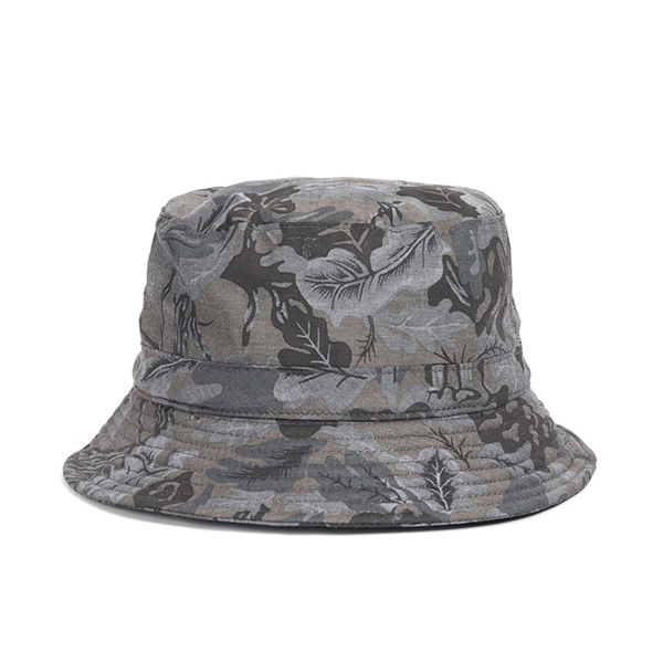 WILDBRICKS - CAMO BUCKET HAT (black)