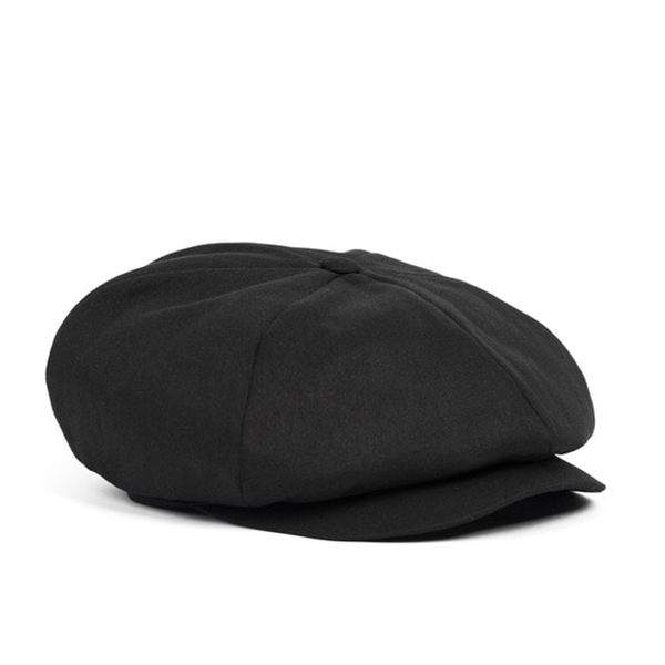 WILDBRICKS - BS NEWSBOY CAP (black)