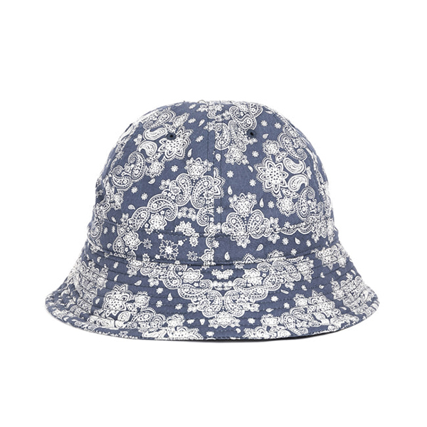 WILDBRICKS - PAISLEY BUCKET HAT (navy)