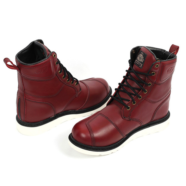 RSD BOOTS  MOJAVE OXBLOOD