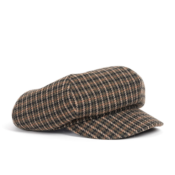 WILDBRICKS - WOOL NEWS BOY CAP (khaki)