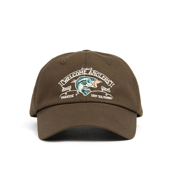 WILDBRICKS - ANGLER CAP (brown)