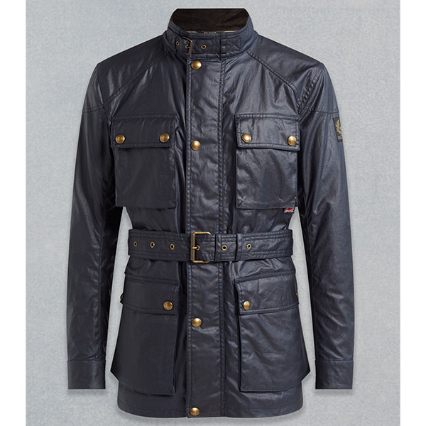 2018F/W BELSTAFF ROADMASTER JACKET - NAVY