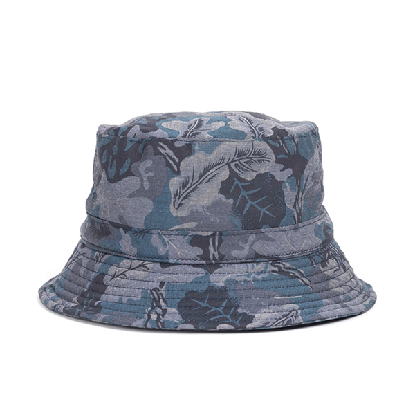 WILDBRICKS - CAMO BUCKET HAT (navy)