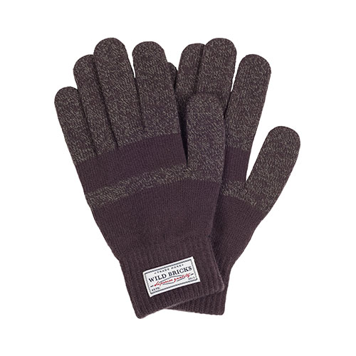 WILDBRICKS - BASIC TOUCH GLOVES (brown)