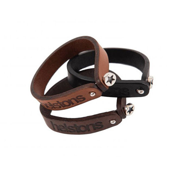 HELSTONS LEATHER BRACELET -  STAR
