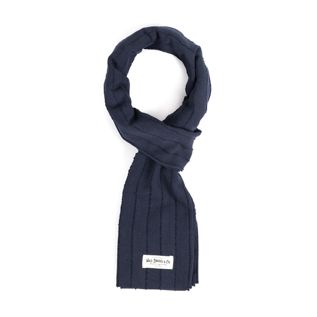 WILDBRICKS - CL STOLE  (navy)