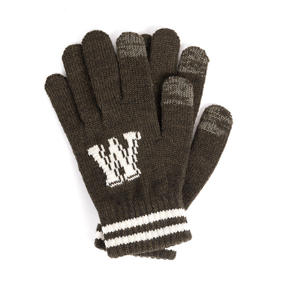 WILDBRICKS - WB TOUCH GLOVES (khaki)