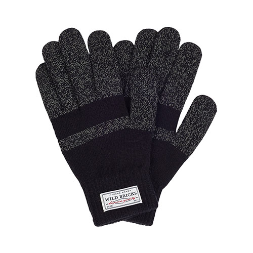 WILDBRICKS - BASIC TOUCH GLOVES (black)