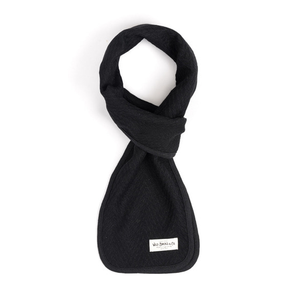 WILDBRICKS - WOOL VIN STOLE (black)