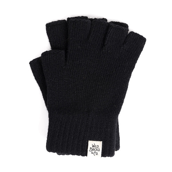 WILDBRICKS - FINGERLESS GLOVES (black)