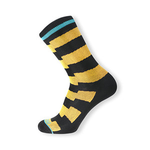 HOLYFREEDOM SOCKS  FLASH YELLOW
