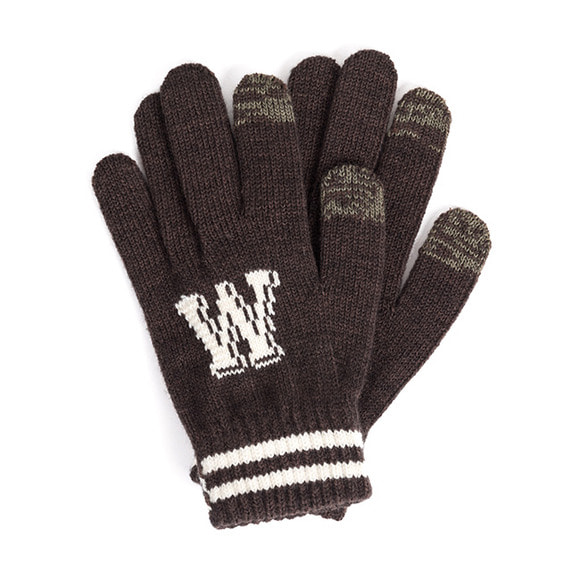 WILDBRICKS - WB TOUCH GLOVES (brown)
