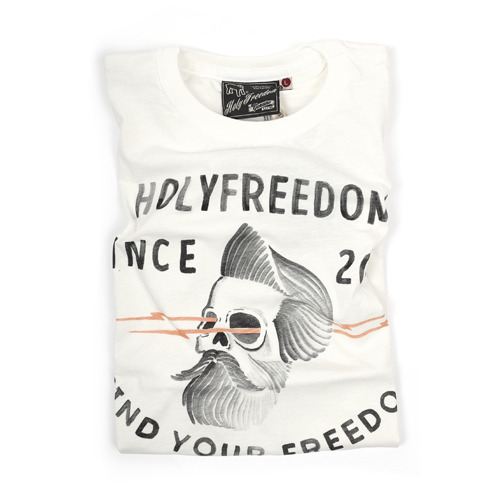 HOLYFREEDOM T-SHIRT  BARBOUR