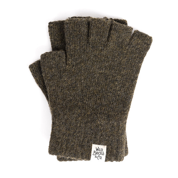 WILDBRICKS - FINGERLESS GLOVES (khaki)