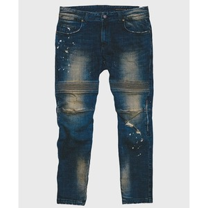 [모빈스알 데님팬츠] MOVINS.R - TIGRIS BASIC DENIM PANTS WASHED BLUE