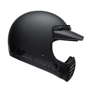 BELL MOTO-3  BLACKOUT MATTE/GLOSS BLACK