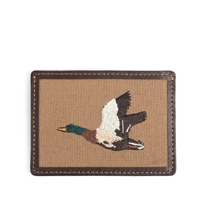 WILDBRICKS - MALLARD CARD CASE (brown)
