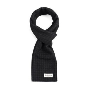 WILDBRICKS - SHEPHERD CHECK STOLE (black)