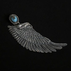 [헬도라도 펜던트] Helldorado - Eagle Wing with Turquise Pendant