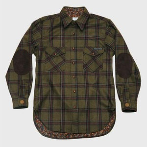 [모빈스알 셔츠] MOVINS.R - AQUILA WOOL SHIRTS KHAKI PLAID