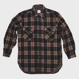 [모빈스알 셔츠] MOVINS.R - AQUILA WOOL SHIRTS BROWN PLAID
