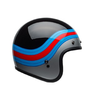 BELL - CUSTOM500  PULSE BLACK/BLUE/RED