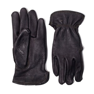 [에이징씨씨씨 X 카이맨 글러브] AGINGCCC X CAIMAN KOREA - HAND DYEING DRIVERS GLOVES-BLACK