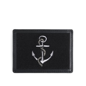 WILDBRICKS - ANCHOR CARD CASE (black)
