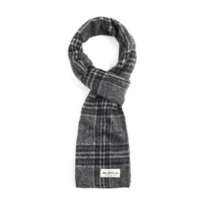 WILDBRICKS - EQ CHECK STOLE (grey)