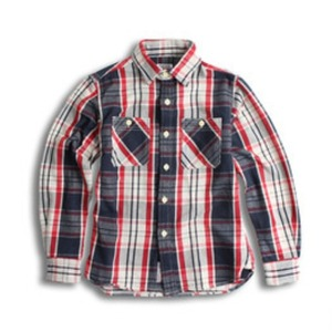 D.I.M - FLANNEL CPO SHIRT IVORY