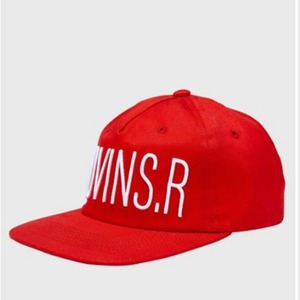 MOVINS.R - FAITHER FIVE PANEL CAP RED