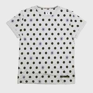 [모빈스알 반팔티셔츠] MOVINS.R -Rain of Dots SHORT GREY HEATHER