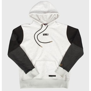 [모빈스알 티셔츠] MOVINS.R - AXIO LOVE SIGN HOODIE IVORY