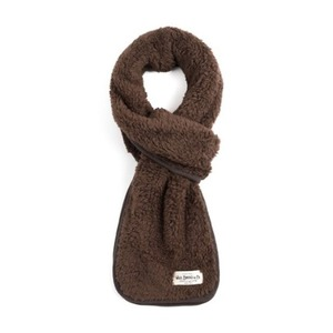 WILDBRICKS - BS FLEECE STOLE (brown)