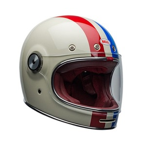 [벨 불릿 에디션 헬멧] BELL - BULLITT  COMMAND VINTAGE WHITE/RED/BLUE