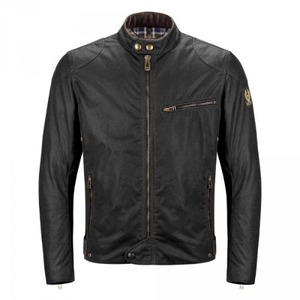 Belstaff Ariel Wax Jacket - Black