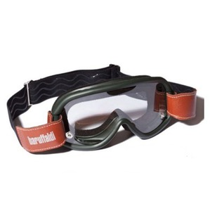 [바루팔디 빈티지 고글] BARUFFALDI SPEED4 CLASSIC GOGGLE GREEN (+3 LENSES)