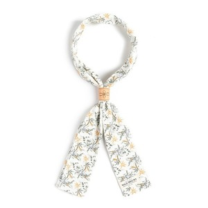 WILDBRICKS - FR FLOWER SCARF (ivory)