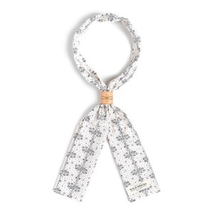 WILDBRICKS - FL DOT SCARF (ivory)