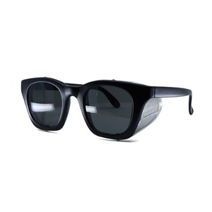 BSPOKE - WING GLASSES / MATT BLACK&SMOKE