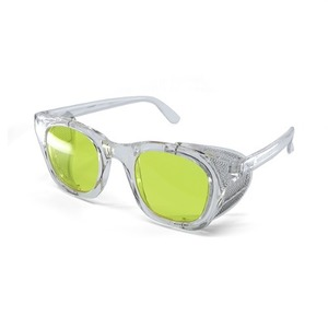BSPOKE - WING GLASSES / CLEAR&YELLOW