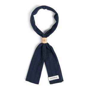 WILDBRICKS - ROPE SCARF (navy)