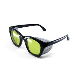 BSPOKE - WING GLASSES / BLACK&YELLOW