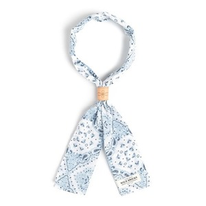 WILDBRICKS - TWO-TONE PAISLEY SCARF (white)