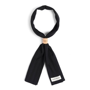 WILDBRICKS - ROPE SCARF (black)