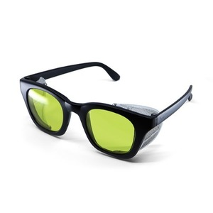 BSPOKE - WING GLASSES / MATT BLACK&YELLOW