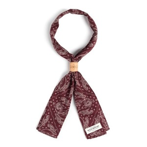 WILDBRICKS - PS PATCH SCARF (burgundy)