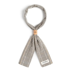 WILDBRICKS - BPG CHECK SCARF (beige)